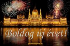 boldog új évet Budapest
