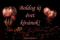 boldog új évet kívánok tűzijáték