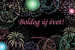 boldog új évet tűzijáték
