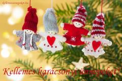 kellemes karácsonyi ünnepeket angyalok