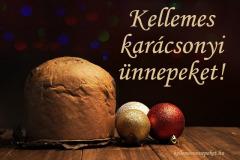 kellemes karácsonyi ünnepeket panettone