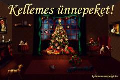 kellemes ünnepeket karácsonyfa régi