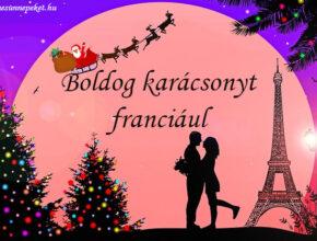 boldog karácsonyt franciául