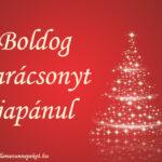 Boldog karácsonyt japánul
