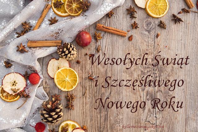 boldog karácsonyt lengyelül, Wesołych Świąt i Szczęśliwego Nowego Roku