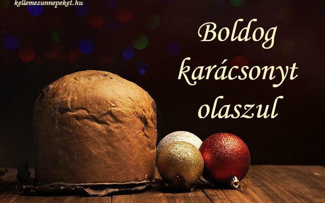 boldog karácsonyt olaszul