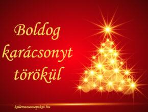 boldog karácsonyt törökül