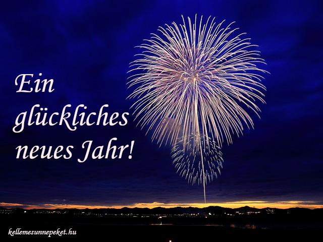 boldog új évet németül, Ein glückliches neues Jahr!