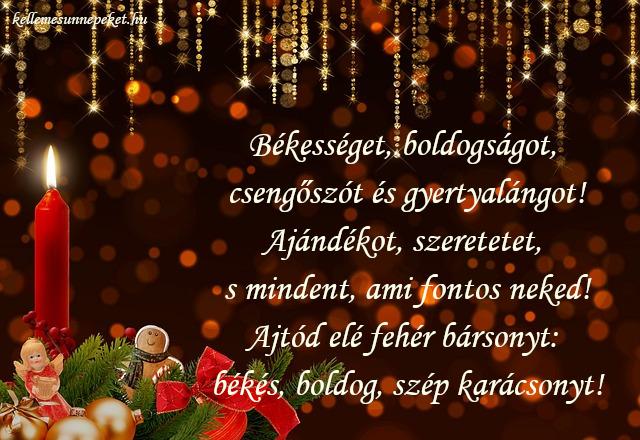 karácsonyi üdvözlet felnőtteknek
