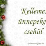 Kellemes ünnepeket csehül