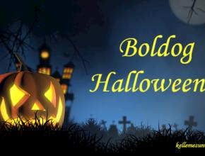 boldog halloweent