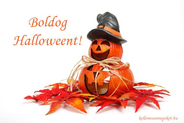 boldog halloweent dekoráció