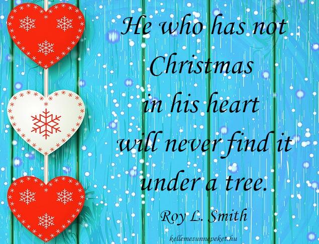 karácsonyi idézet angolul, christmas in heart