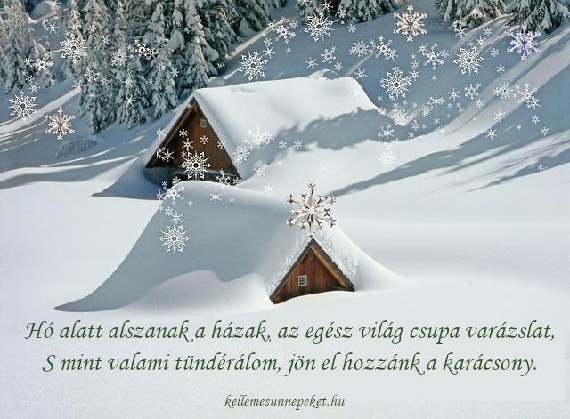 karácsonyi idézet gyerekeknek hó alatt