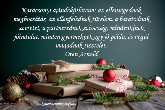 különleges karácsonyi idézet, ajándék ötlet