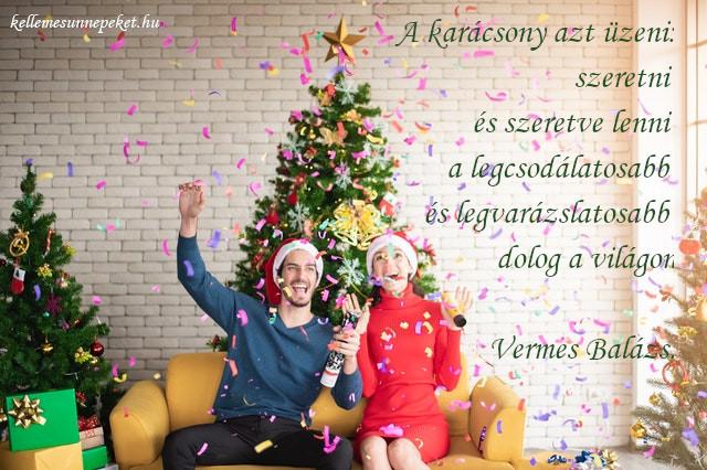 szívhez szóló karácsonyi idézet, szeretve lenni