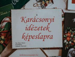 gyönyörű karácsonyi idézetek képeslapra