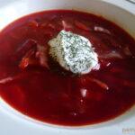 Borscs leves hús nélkül