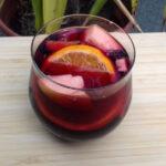 Sangria pezsgővel
