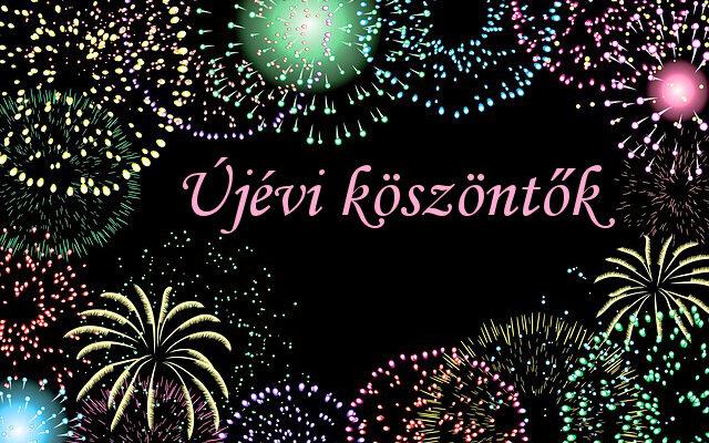 újévi köszöntők