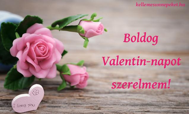 boldog valentin napot szerelmem, virág