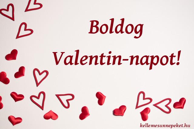 boldog valentin napot szívek