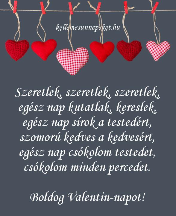 valentin napi vers szeretlek