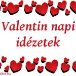 Valentin napi idézetek