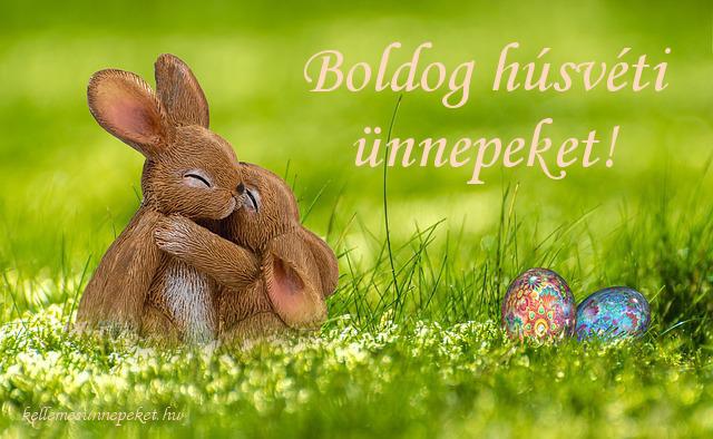 boldog húsvéti ünnepeket cuki nyuszik