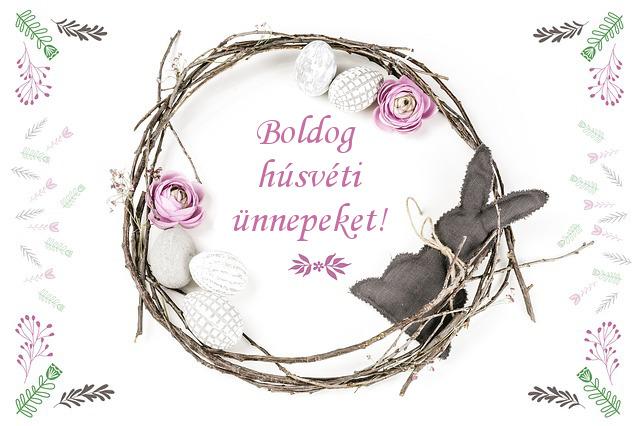 boldog húsvéti ünnepeket modern