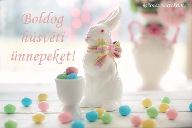 boldog húsvéti ünnepeket nyuszi tojások