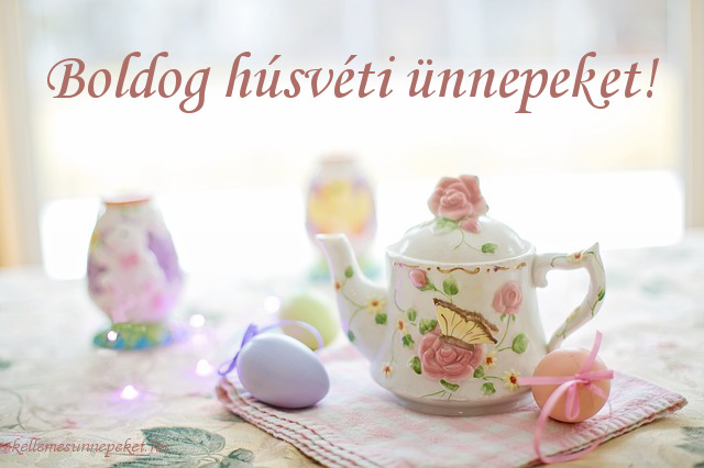 boldog húsvéti ünnepeket tea