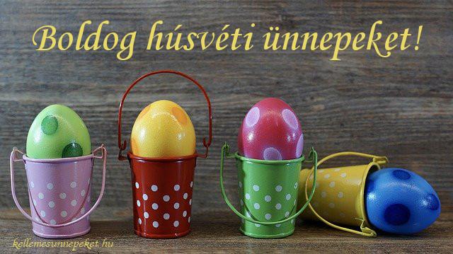 boldog húsvéti ünnepeket tojások
