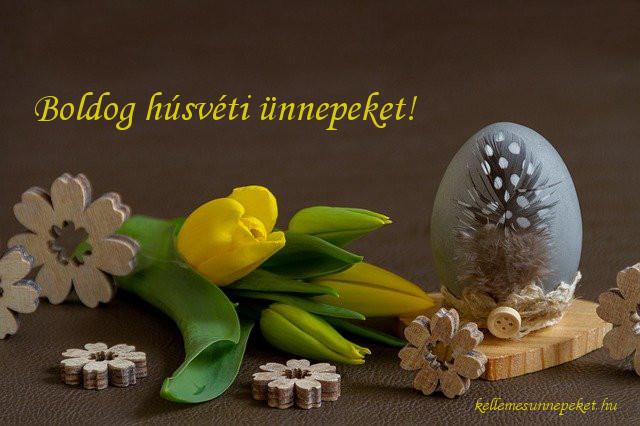 boldog húsvéti ünnepeket virág