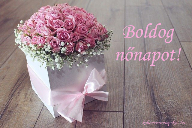 boldog nőnapot rózsák