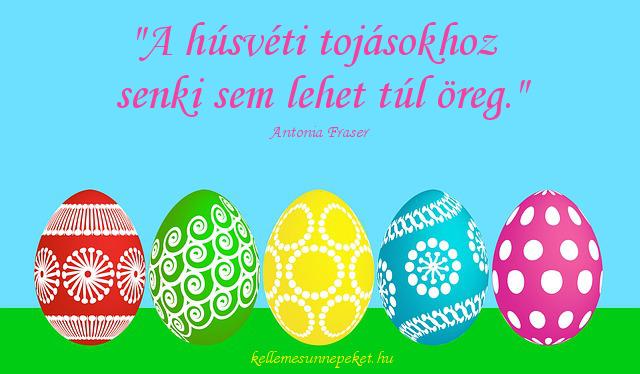 húsvéti idézet tojás