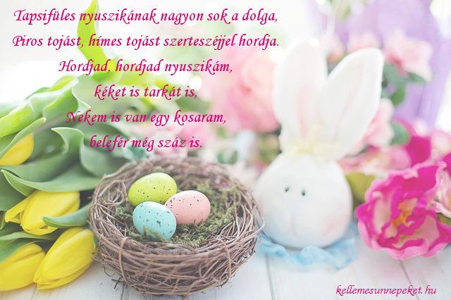 húsvéti köszöntő tojások