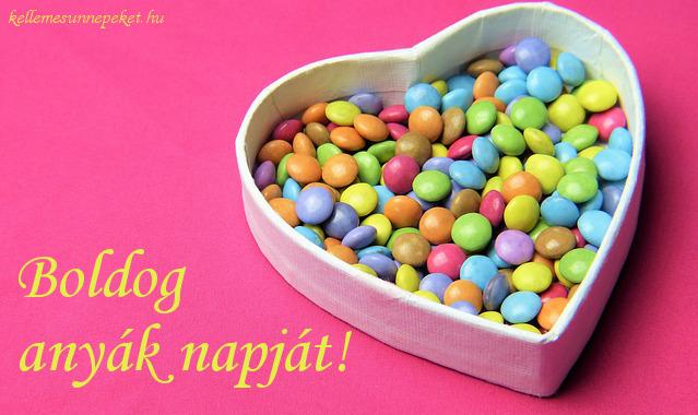 boldog anyák napját cukorkák