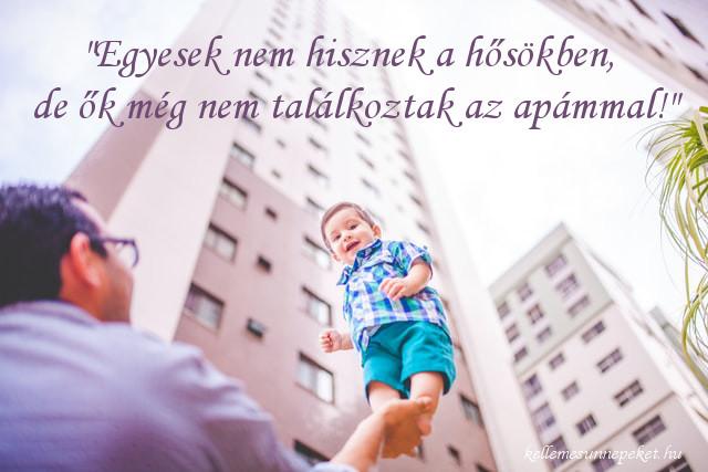 apák napi idézet, hős