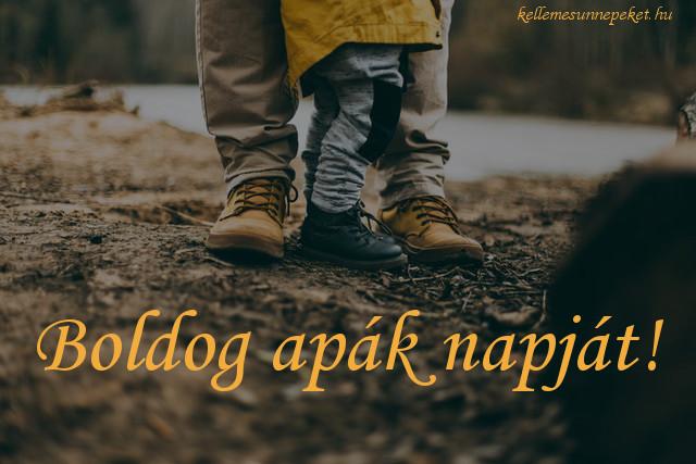 boldog apák napját cipők