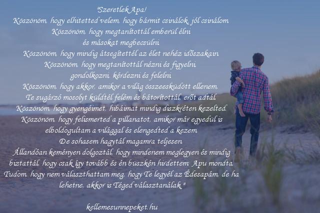szeretlek apa idézet