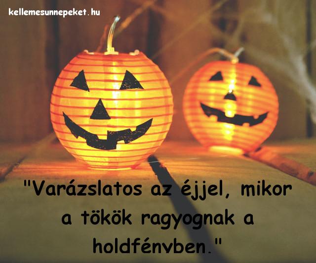 halloween idézet tökök