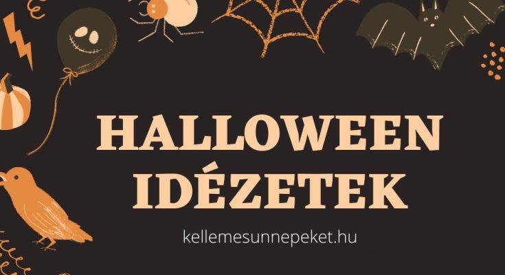 halloween idézetek képekkel