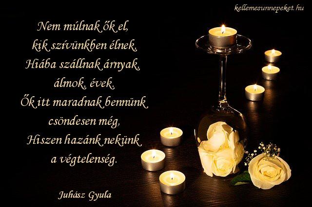 halottak napi vers, Juhász Gyula