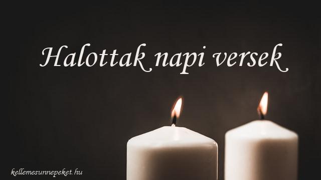 halottak napi versek