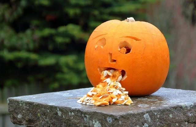 hányós halloween töklámpás