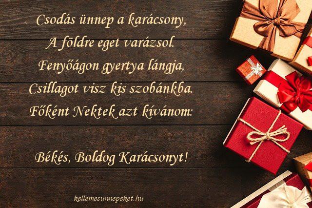 karácsonyi üdvözlet, csodás ünnep