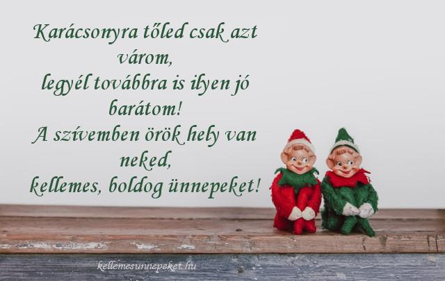karácsonyi idézet barátoknak