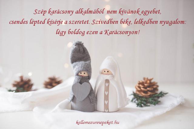 karácsonyi köszöntő szeretet
