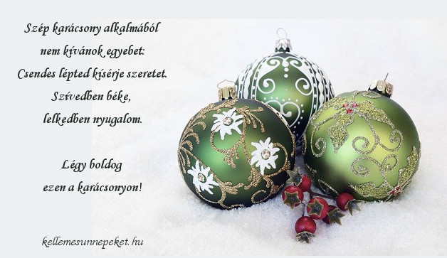 karácsonyi üdvözlet, szép karácsony alkalmából